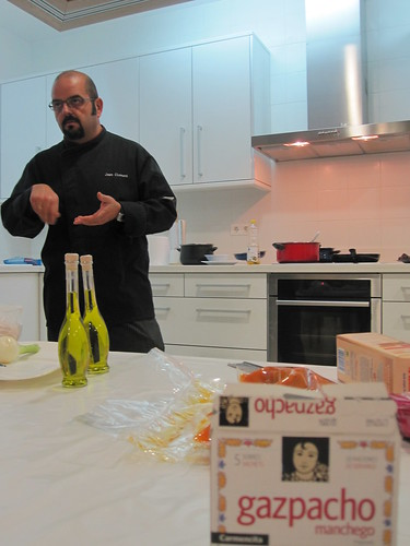 Clases de cocina con Joan Clement