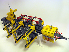 NCP Docking Cradle (M.R. Yoder) Tags: station toy ship lego space hobby plastic orbital scifi goliath ghoul docking ncp moc keithgoldman northcentralpositronics