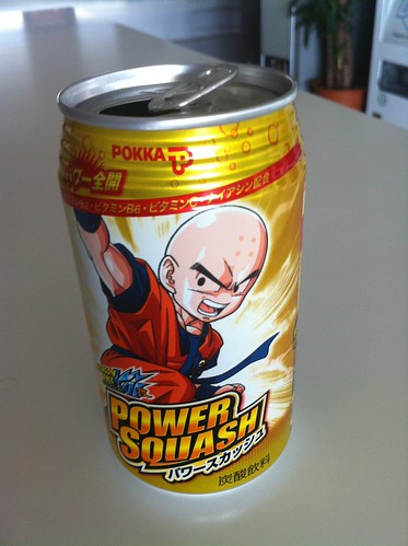 Power Squash, la bebida de Dragon Ball Kai class=