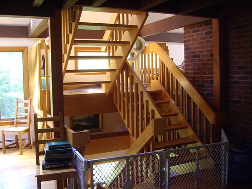 A beautiful staircase