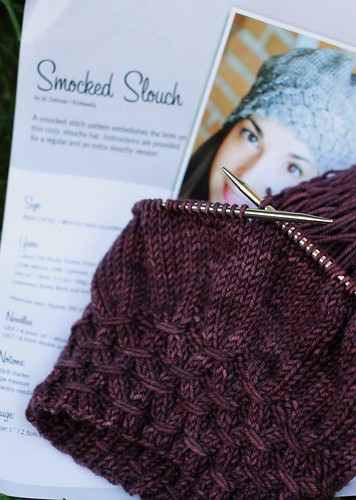 smocked slouch
