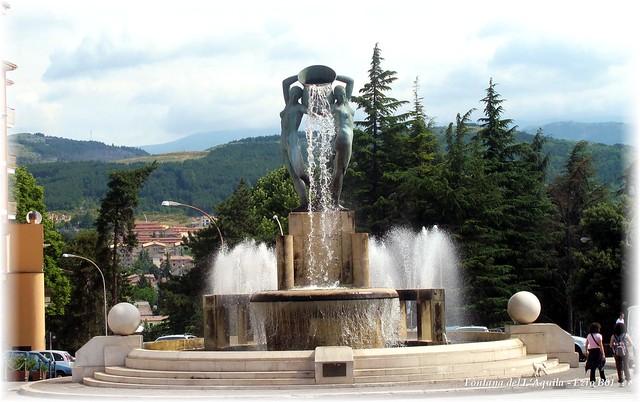 Fontana a L'Aquila