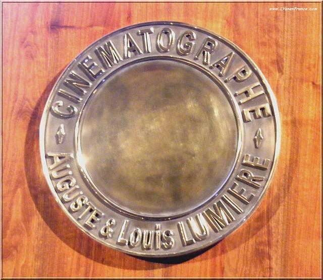 Le trophée du Prix Lumière