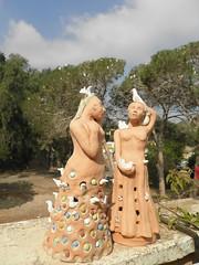 אנפיות בואדי - פסלים של ליאוני בר אל