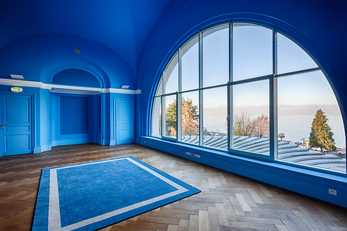 Médiathèque - Salon bleu