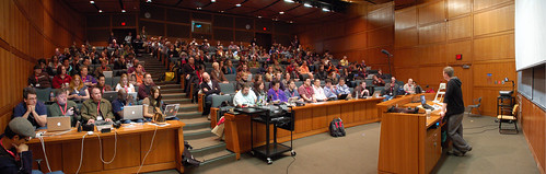 Quick 'n' dirty Mullenweg keynote panorama