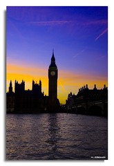 Amazing BiG BeN (M. ALbeloushi) Tags: uk boy sun london westminster set big amazing nikon ben d70s m ordinary q8y betterthangood albeloushi