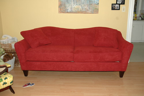 our first real couch