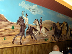 STEAK HOUSE MURAL