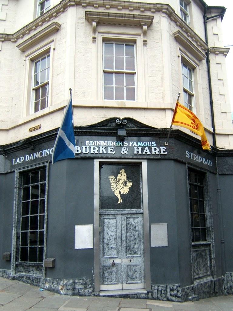 Burke and hare strip bar edinburgh