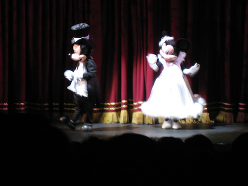 Mickey and Minnie in The Golden Mickeys