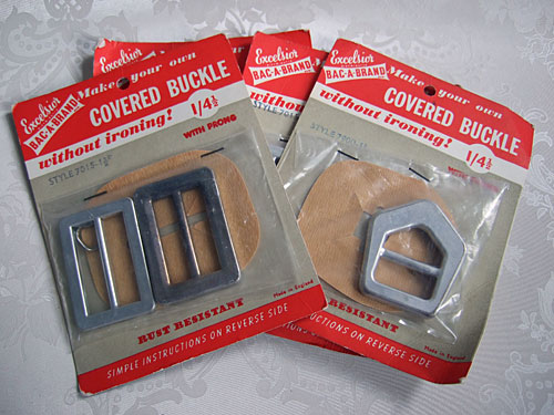 Covered buckles