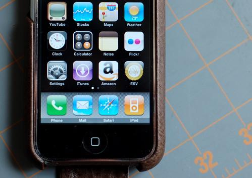 ESV Mobile on iPhone