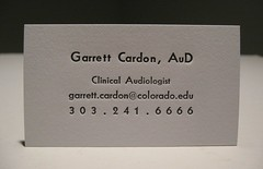 Garrett Cardon Business Cards