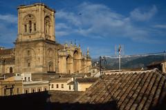 Granada Cathedral & Sierra Nevada (Per@Flickr) Tags: travel architecture geotagged spain andalucia granada sierranevada 5photosaday 5halloffame