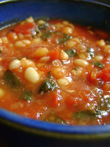 Tomato and Haricot Bean Soup