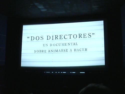 """BAFICI 2008: Cortometraje """"Dos directores"""""""