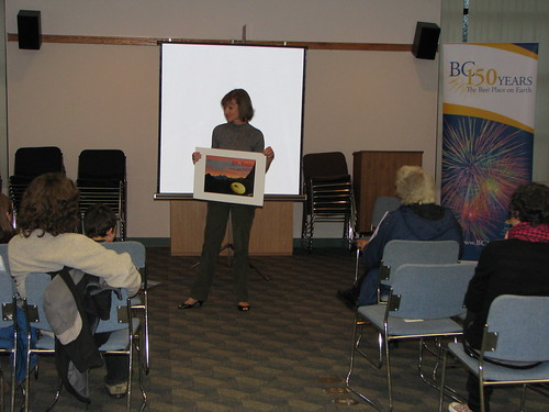 Ruth at Mission Public Library