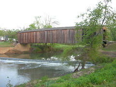 Burfordville Covered Bridge (jimmywayne) Tags: mill historic missouri coveredbridge watermill burfordville nationalregister bollingermill nrhp