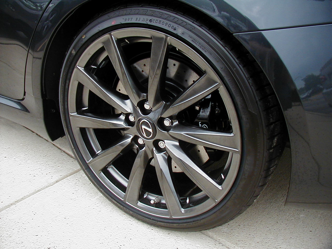 Factory Wheel Color Lexus Isf Is F Lfa Lf A Forum