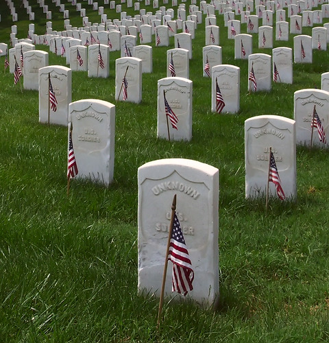 Jefferson Barracks National Cemetery, in Lemay, Missouri, USA - graves