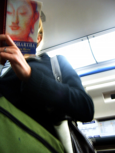 Reading Buddha on the Tube