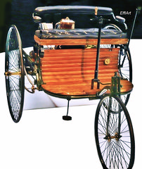 The Bertha & Karl Benz motorcar,
