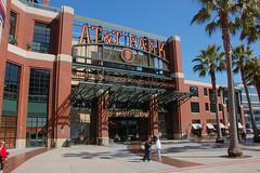 One of the entrances to ATT Park (momboleum) Tags: baseball nikond50 jumbotron sanfranciscoca mccoveycove attparksf tomaleselementaryschoolchoir