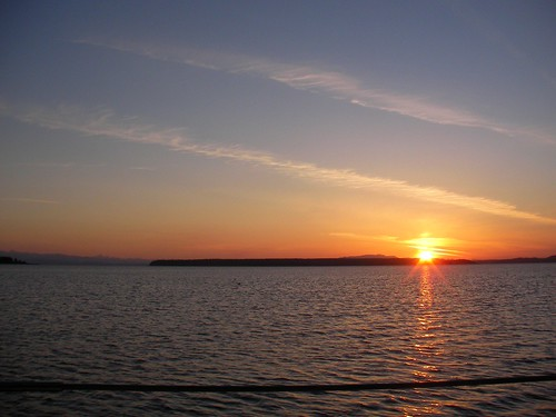 Sunset at Savary Island