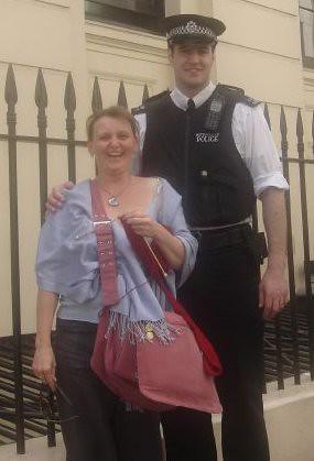 mel and policeman