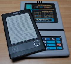 Cybook e un PADD di Star Trek