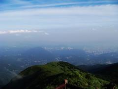 遠眺台北盆地