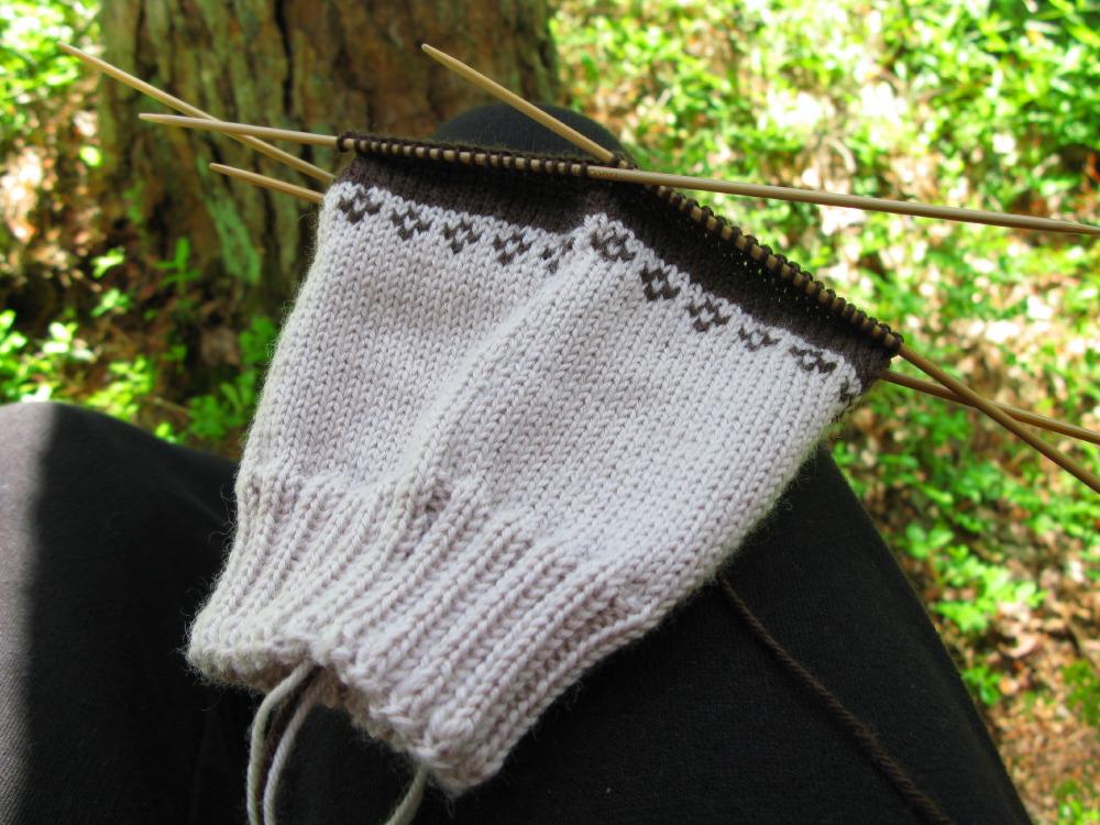 Midsummer knitting