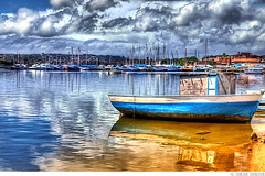 Ribeira - Salvador / BA (Omar Junior) Tags: blue sky cloud reflection water clouds geotagged boat high barco dynamic barcos pentax d cu bahia junior nuvens salvador imaging ba omar mapping ist range reflexo ceu tone hdr ribeira pentaxistd hdri mapped salvadorba highdynamicrangeimaging geo:lat=12918195 geo:lon=38501029