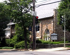 a neighborhood church in Cleveland Park, DC (c2008, FK Benfield)
