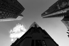 Hearst Tower (NYC) (II) (manuela.martin) Tags: nyc newyorkcity newyork architecture skyscrapers foster architektur bigapple sirnormanfoster contemporaryarchitecture hearsttower modernearchitektur