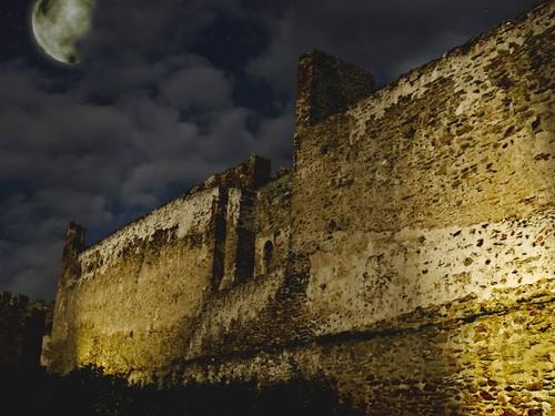 Castles at night