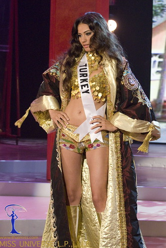 Traje de fantasía de Miss Turquía