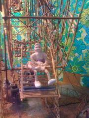 Ferris wheel rider