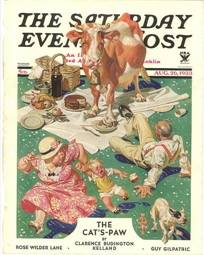 cow picnic