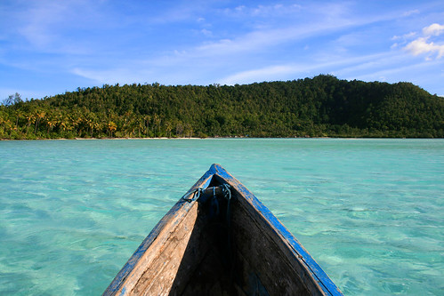 The islands of Raja Ampat. / Nisa + Ulli Maier