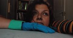 outtake 2 domestic goddess shoot (tonbel) Tags: blue me aqua rubber gloves turqoise utatafeature