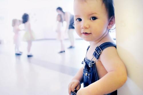 dance class ... blue-er