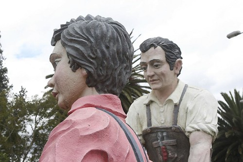 Strange Statues