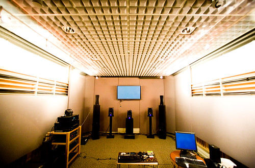 Media Center Team Sound Room