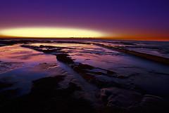 Dawn (David Boehm) Tags: sky color water rock sunrise flow dawn mirror pentax sydney australia fluid narrabeen k10d