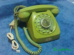 1970's Rotary Telephone (Eastbtm - I am back online again ! :):)) Tags: singapore telephone authority 1970s rotary nec telecoms telecommunications of iremembersg