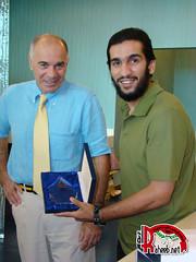 Adel Lami, honors the medical team who supervised treatment (A L R a h e e b . N e t) Tags: qatar  rayyan  alrayyan     rayyani alraheeb
