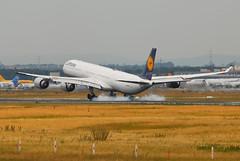 Lufthansa Airbus A340-642 D-AIHK (21565) (Thomas Becker) Tags: 2004 japan plane germany airplane geotagged deutschland airport nikon hessen frankfurt aircraft airbus osaka d200 tamron flugzeug lufthansa spotting fra a340 160404 kix 200500 fraport 050504 rheinmain staralliance a340600 eddf a340642 aerotagged luftfahrzeug daihk aero:airline=dlh fwwcn aero:airport=eddf 080801 msn580 aviationphoto lh741 geo:lat=50039323 geo:lon=8596877