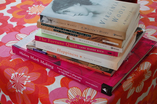 August pile of New Books
